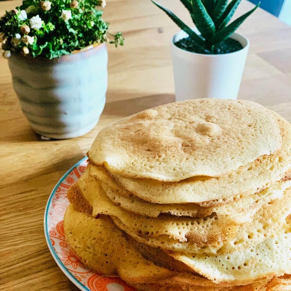 Crêpes Sans Gluten Et Sans Lactose