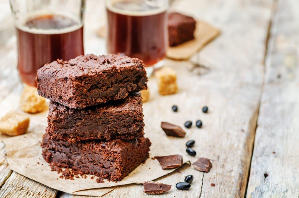 Brownie Aux Haricots Noirs Végétarien