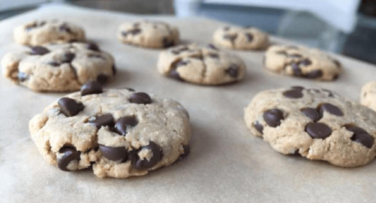 Cookies Avoine, Amandes Et De Pepites De Chocolat Recette Healthy