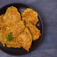Galette Végétarienne De Chou Kale Et Patate Douce