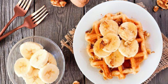 Gaufres à La Banane Et Au Blé Healthy