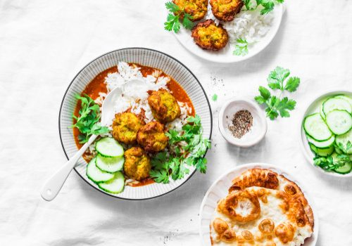 Kofta De Courgettes Et Sauce Au Curry
