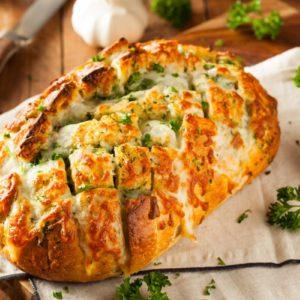 Pain Au Fromage Et à L'ail Sans Gluten