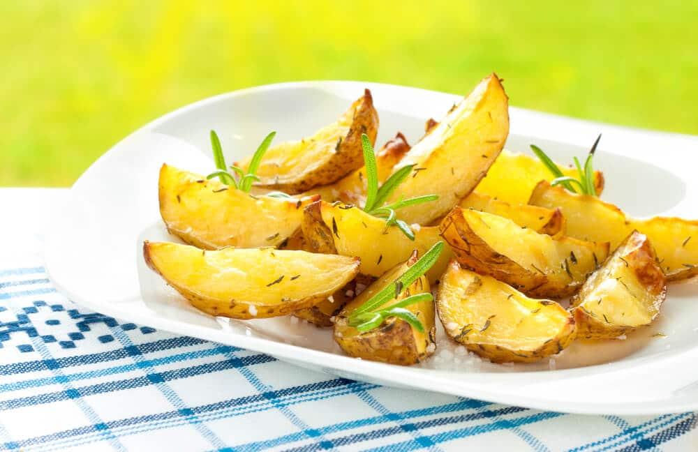 Pommes De Terre Sautées, Citron Et Romarin
