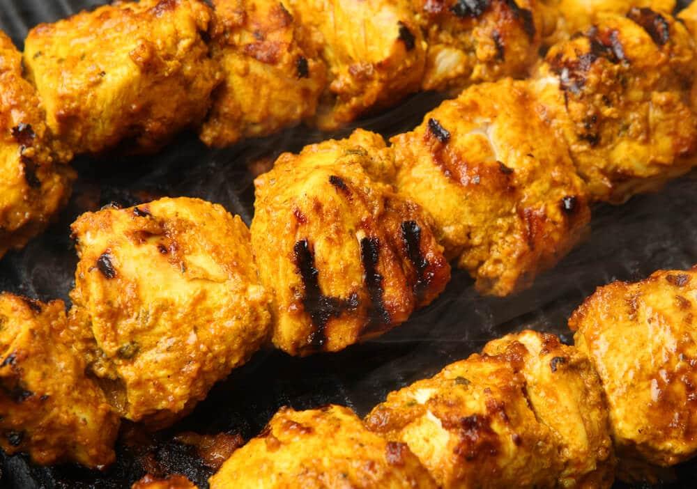 Poulet Barbecue Au Yaourt épicé