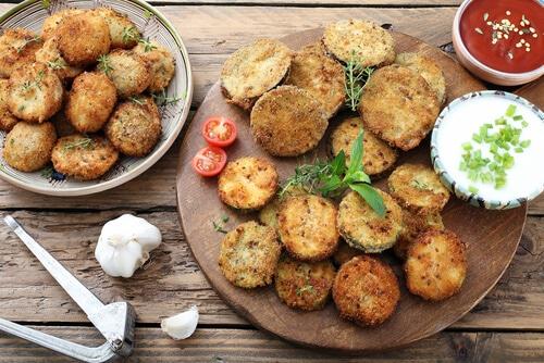 Galettes De Quinoa Et Patates Douces