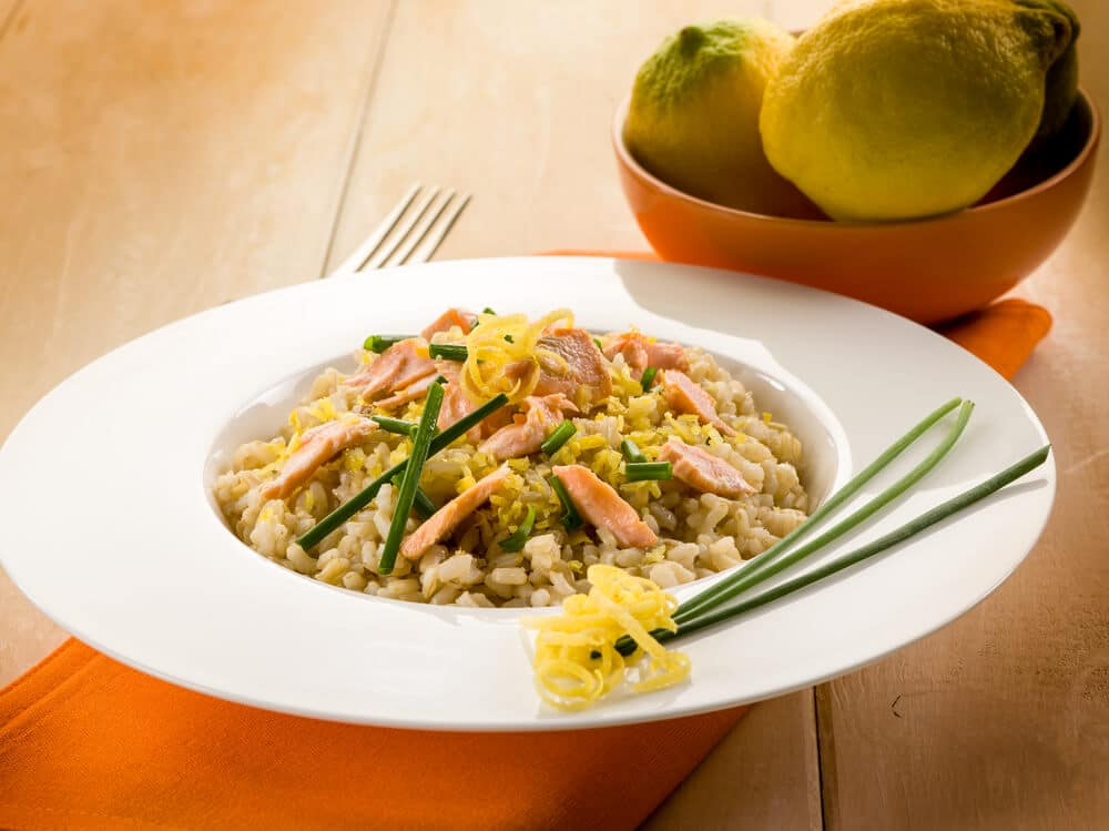Risotto Citron Saumon