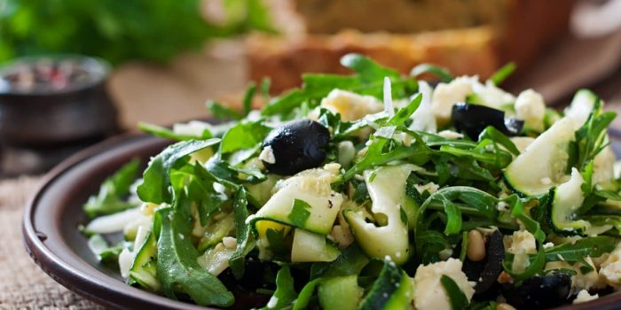 Salade De Courgettes Healthy