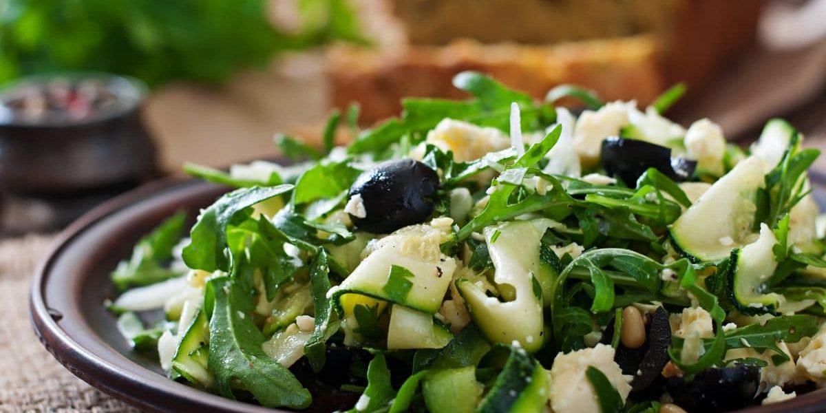 Salade De Courgettes Healthy