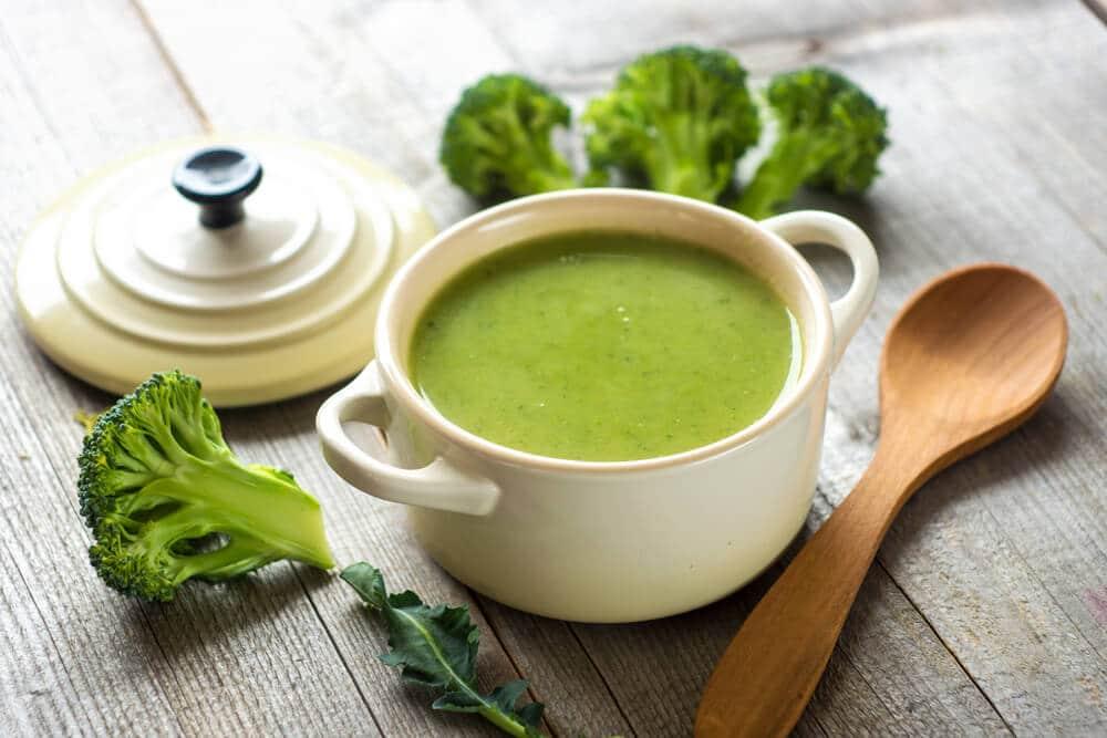 Soupe Aux Brocolis Et Fromage Roquefort