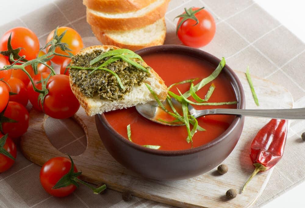Soupe De Pesto