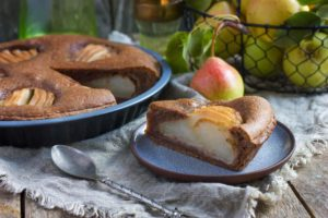 Tarte frangipane poire et chocolat