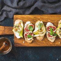 Toast Au Fromage Et Aux Poires
