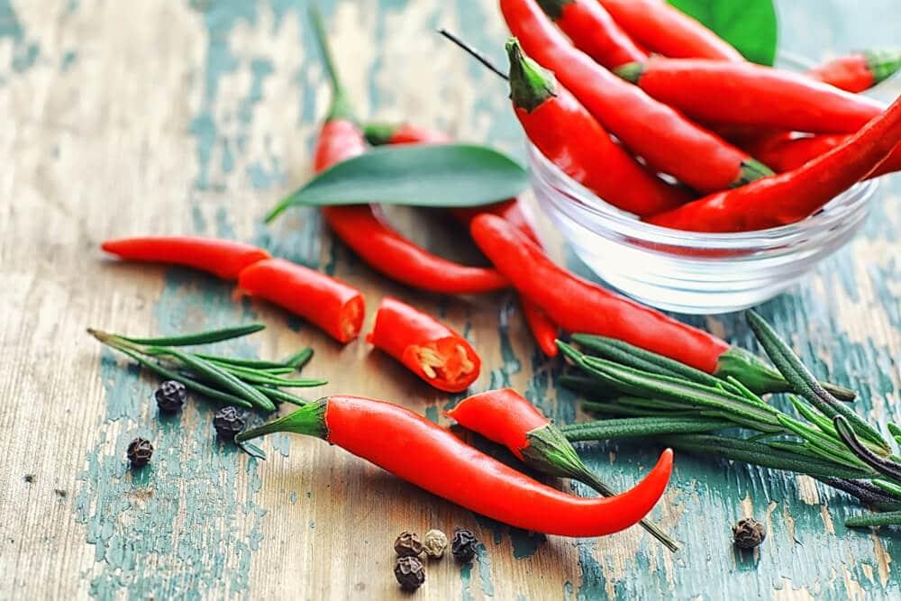 8 Bénéfices à Consommer Du Piment De Cayenne