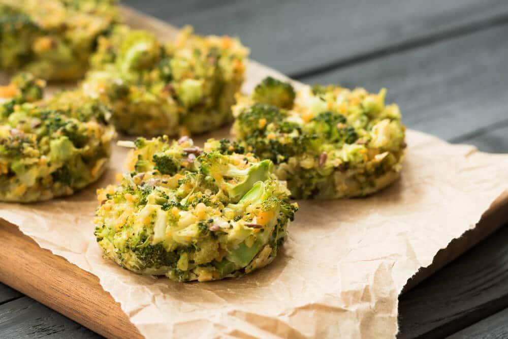 Brocolis Croustillants Au Parmesan