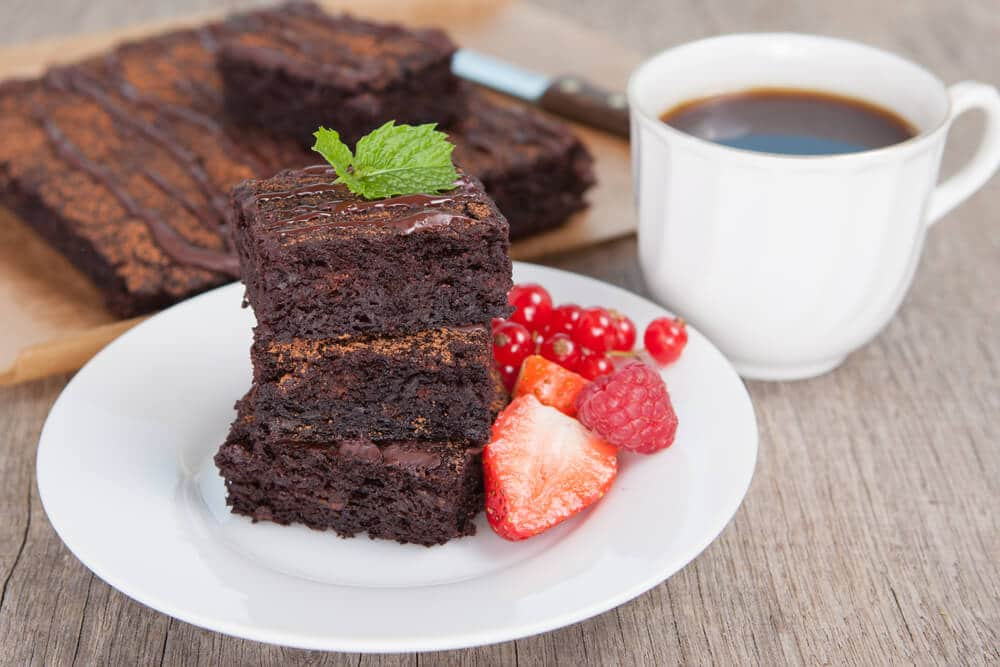 Brownie Chocolat Noir Et Patate Douce