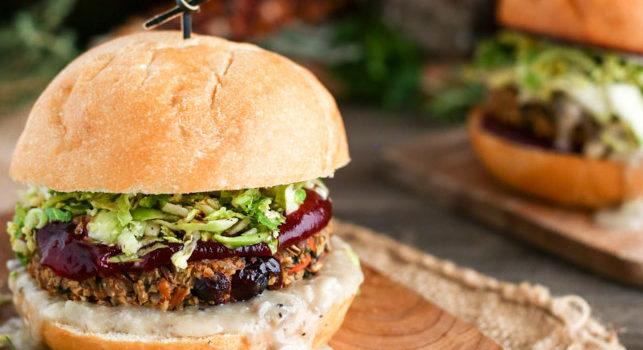 Burger Vegan Avec Galette De Légumes