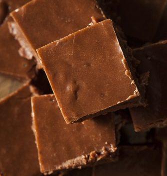 Carrés De Chocolat Au Sésame