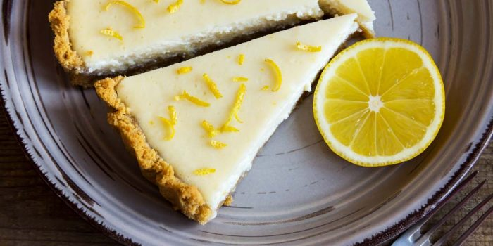 Cheesecake Vegan Citron