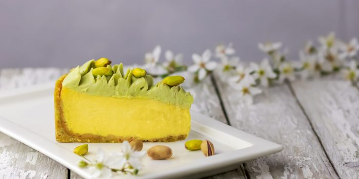Cheesecakes Mangue Matcha