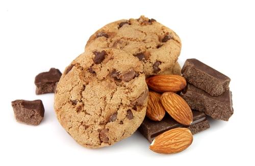 Cookies Vegan Au Chocolat Et Amandes