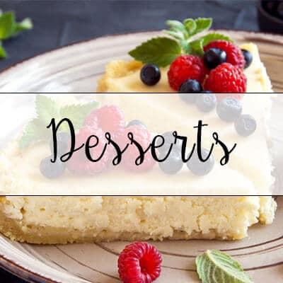 recette desserts healthy