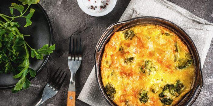 Frittata Healthy Aux Brocolis