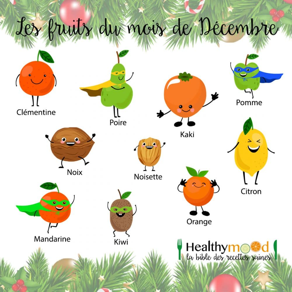 Les Fruits Du Mois De Décembre
