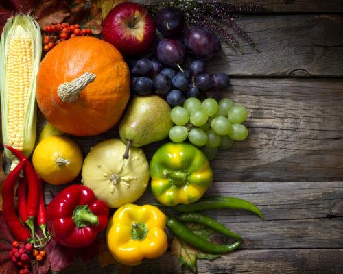 Image De Fruits Et Légumes De Saison