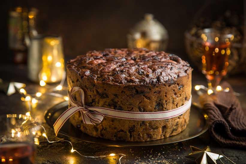 Gâteau De Noël Vegan