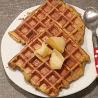 Gaufres Healthy Aux Pommes