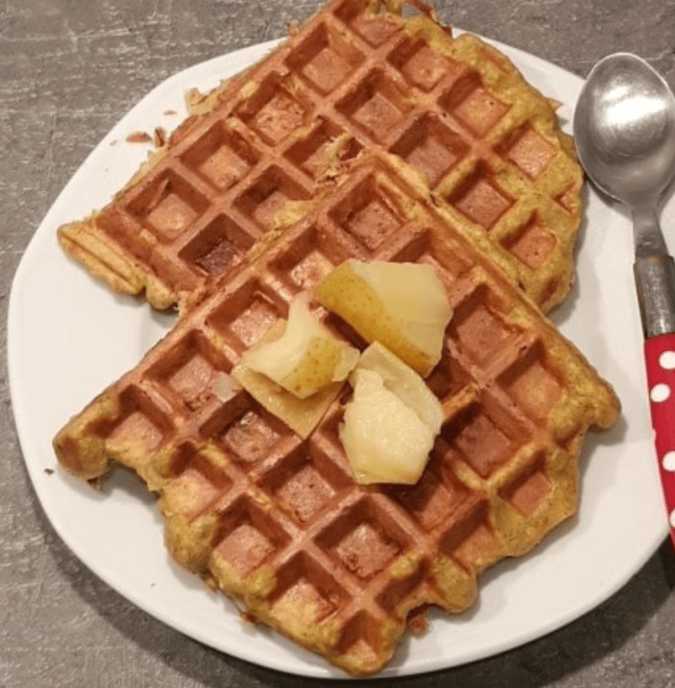 Recette Healthy Gaufre Aux Pommes