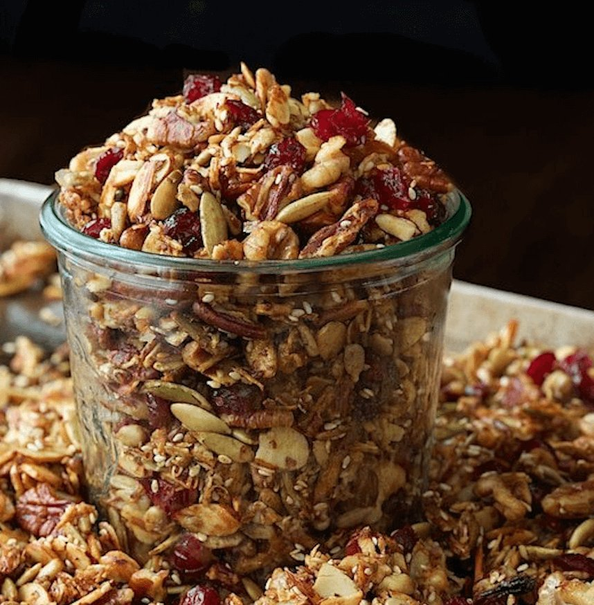 Recette Healthy Granola Paleo