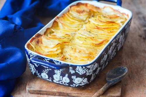 Recette Gratin Dauphinois Light