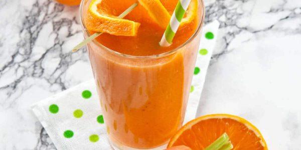 Jus De Carotte Et Orange