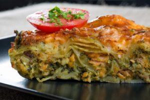 Recette de lasagnes au saumon fumé et épinards