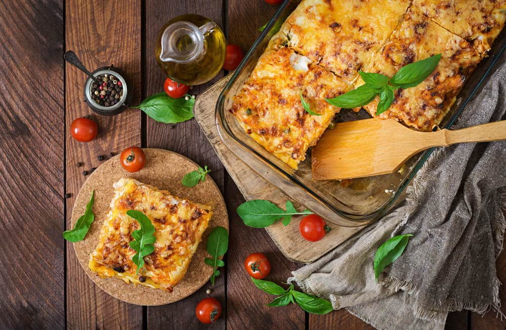 Lasagnes Aux Légumes Anciens