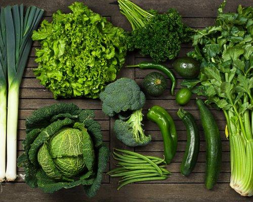 Les Légumes Verts Au Printemps