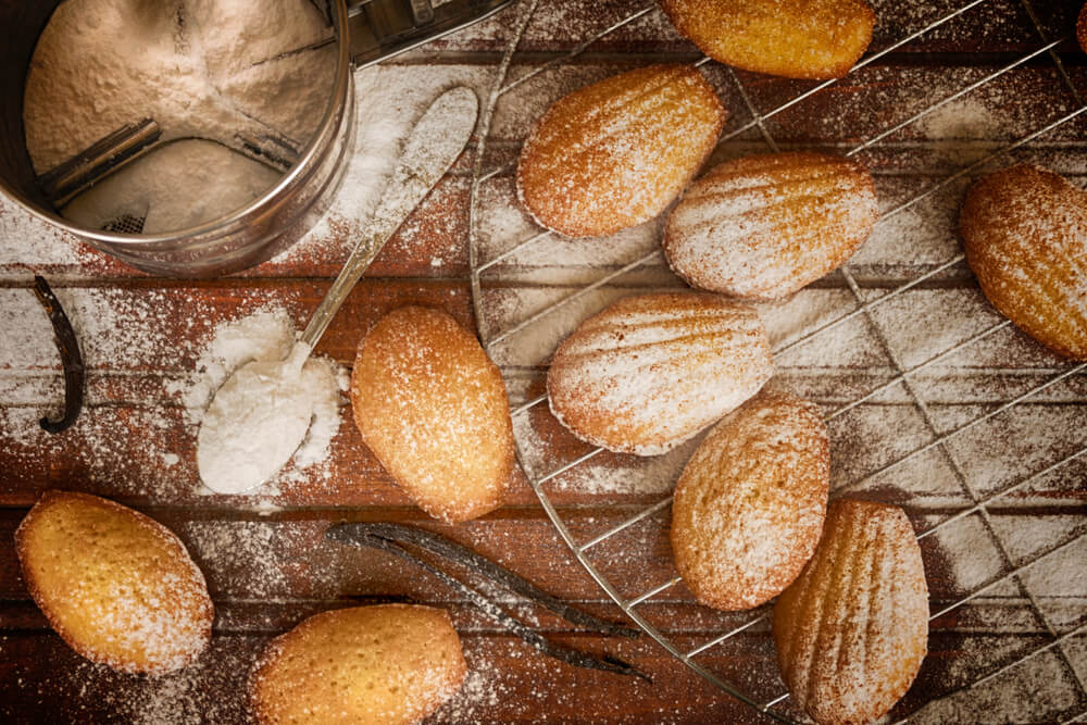 Les Madeleines Healthy