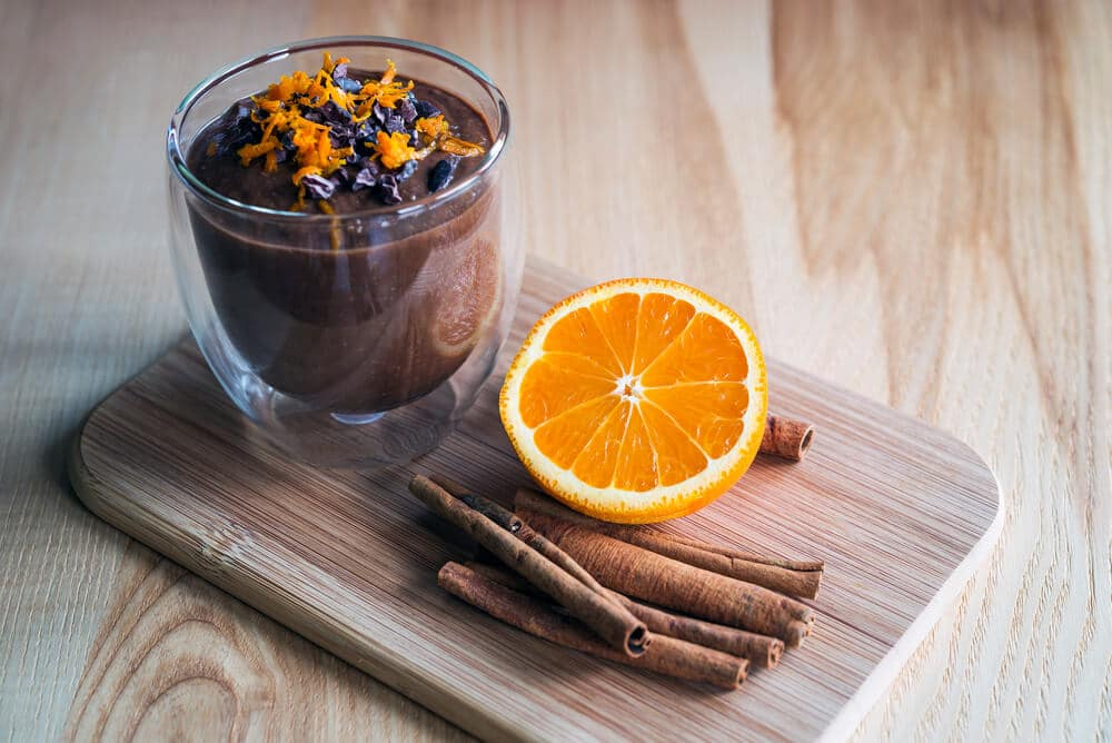 Mousse Au Chocolat Et à L'orange
