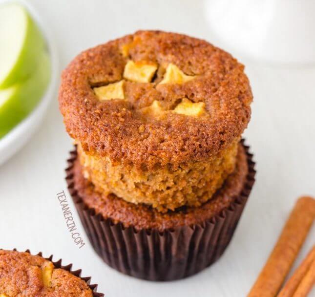 Paleo Muffins Aux Pommes Et à L'érable