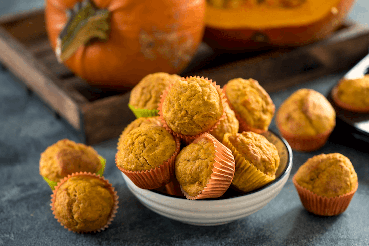 Recette Muffins à La Courge