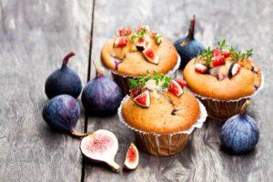 Muffins aux figues et noix