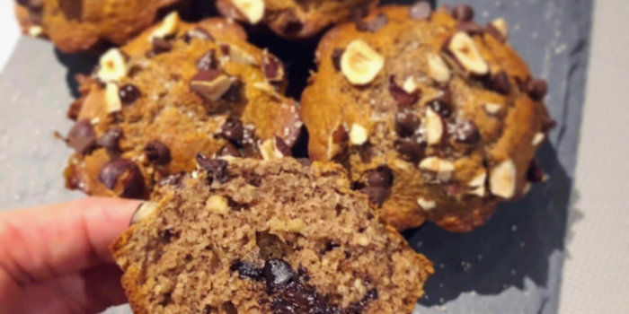 Muffins Chocolat Vanille – Sans Lactose