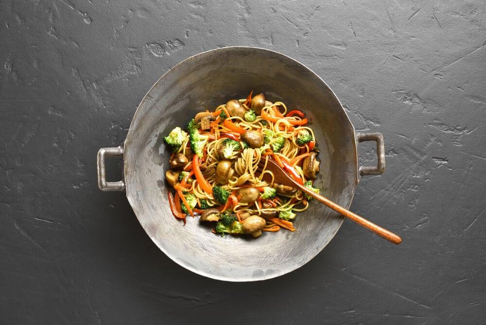 Recette Des Nouilles Sautées Aux Légumes