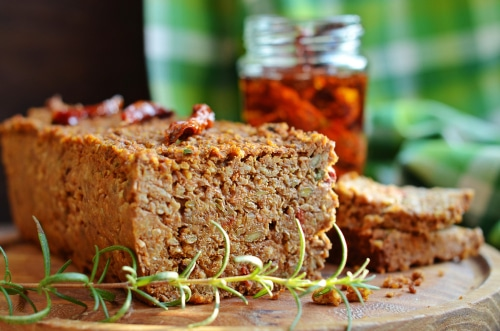 Pain Aux Lentilles Et Sa Sauce Végétalienne