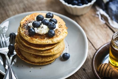 Pancakes Healthy Vegan Et Sans Gluten