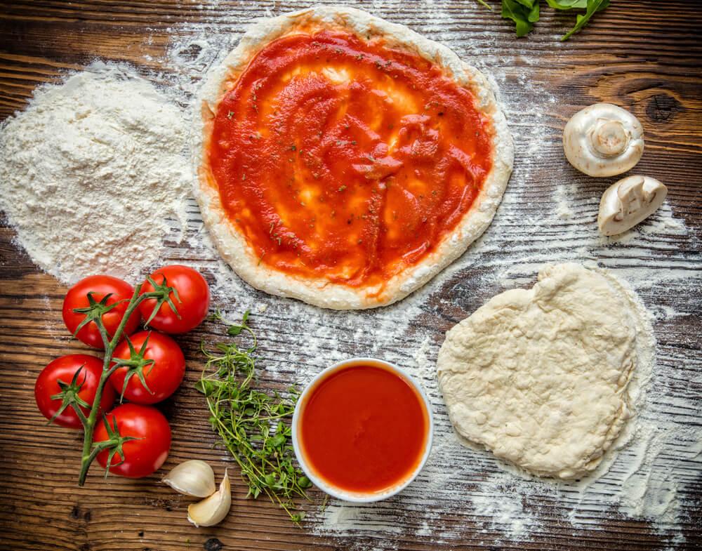 Pâte à Pizza à La Farine De Noix De Coco