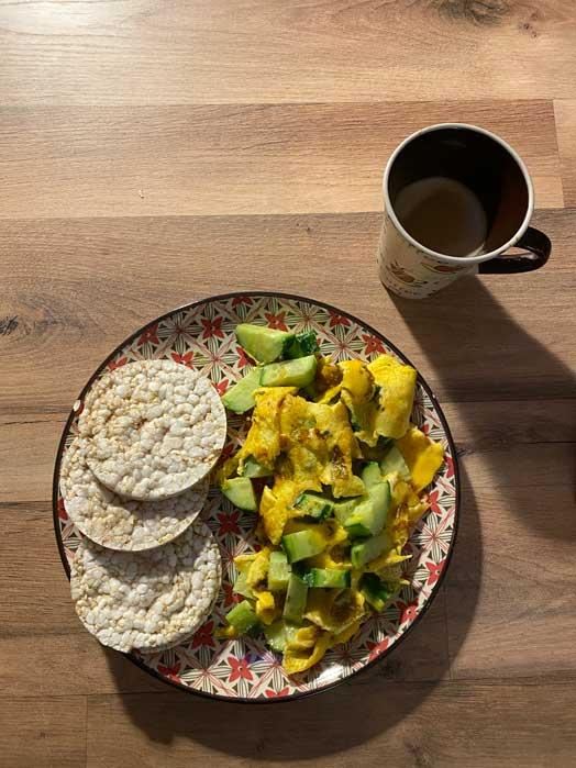 petit-dejeuner healthy