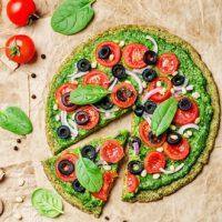 Pizza Healthy à La Pâte De Courgette
